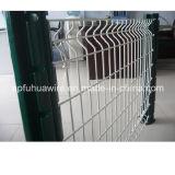 Rete fissa rivestita del PVC e galvanizzata della rete metallica da vendere