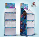 販売のためのボール紙のフロア・ディスプレイラック高品質のボール紙のナイフの陳列台