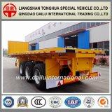 3 Ejes Bulk Cargo Transport Semirremolque lateral