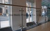 Montaggi architettonici del vetro temperato dell'acciaio inossidabile