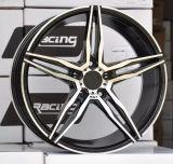 アフター・マーケットの合金の車輪の縁を競争させる15X9.0j Ccw日本