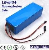 batería del fosfato LiFePO4 del hierro del litio 12V40ah para la potencia de reserva