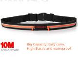 Branded Slim impermeável cintura móvel 2 bolsos saco