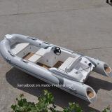 Liya 4.3m Boten van de Sport van het Meer van de Boten van de Elektrische Motor van de Boten van de Rib
