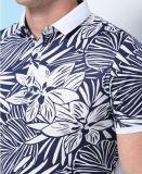 すべての領域によって印刷される短い袖の流行の実業家のTシャツ