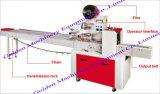 Machine à emballer horizontale de flux de gâteau de nouille instantanée de nourriture d'emballage