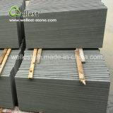 Graue hölzerne Sandstein-Fliesen für Fußboden und Wand
