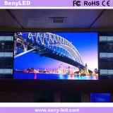 Visualización de LED de aluminio de fundición a presión a troquel para la publicidad video de interior/al aire libre