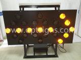 트럭에 의하여 거치된 알루미늄 방수 소통량은 LED 화살에 의하여 형성된 신호를 기분 전환한다