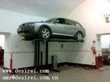 O cilindro dois Scissor o auto elevador/elevador do carro