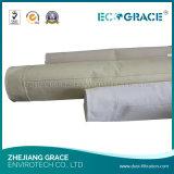 Высокотемпературный упорный цедильный мешок Nomex ткани для сталелитейного завода