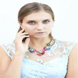 새로운 품목 아름다운 수지 형식 보석 귀걸이 팔찌 목걸이 보석 세트