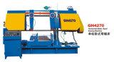 Máquina de Sawing horizontal da faixa da estaca do metal do Sawing Gh42100