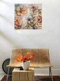 Декоративная флористическая картина маслом (ADA9693)
