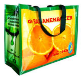 Non relativo à promoção Woven Bag com PP Lamination Shopping Bag