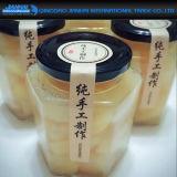 Bottiglia di vetro del mestiere di vetro stabilito di Cpmplete per alimento Handmade
