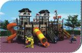 A corrediça ao ar livre dos centros do jogo dos grandes campo de jogos das crianças ajusta HD-140A