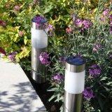 Éclairage solaire inoxidable Nouvelle Zélande de jardin pour extérieur