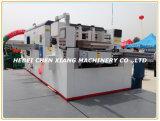 Automatische flache faltende Cx-1500 und stempelschneidene Maschine