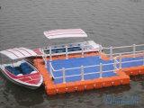 浮遊ポンツーンのヨットのドック