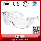 Óculos de proteção largos da ventilação da opinião dos vidros industriais da segurança da proteção de olho