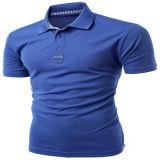 Het slanke Geschikte Lege Korte Overhemd van het Polo van de Koker