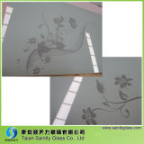 5mm Toughened (White Printing를 가진 Warm Air Blower를 위한 tempered) Decorative Glass Panel