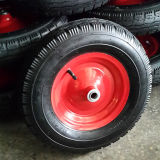 16inch potente 16X4.80/4.00-8 Pneumatic Inflatable Rubber Wheel