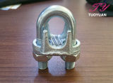 Type léger un clip malléable de câble métallique