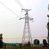 500kv Corner Angle Power Transmission Galvanized Tower