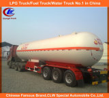 ナイジェリアのための半Asme 40000L-60000L 3の車軸LPG輸送タンクトレーラーLPGのタンカーのトレーラー