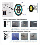 Cadena de producción de fibra óptica terminal del cable de gota de FTTH