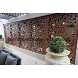 Laser Cut Decorative Aluminum Perforated Wall Panel para Facade