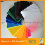 Panneau en plastique dur de plexiglass de l'acrylique Sheet/PMMA avec l'épaisseur différente
