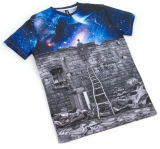 Vente en gros New Design All Over Tinta Sublimation Printing T Shirts