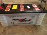 N150 12V150ah d'acide de plomb sèchent la batterie d'accumulateurs rechargeable chargée de véhicule
