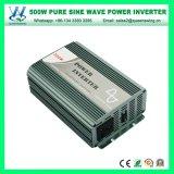 inverseur pur de pouvoir d'onde sinusoïdale de 500W DC12/24V AC220V (QW-P500)