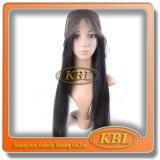 Peruca de renda de seda da peruca de cabelo brasileira