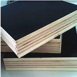 La madera contrachapada comercial de la película negra con WBP impermeabiliza el pegamento