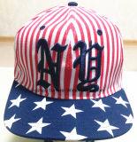 Дешевым шлем бейсбола спорта высокого качества плоским вышитый пиком