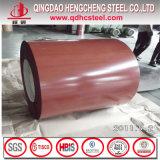 La couleur d'ASTM A653 a enduit la bobine de couleur enduite d'une première couche de peinture par acier
