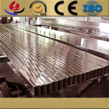 Grand dos Polished d'acier inoxydable d'ASTM A554 TP304L et prix rectangulaire de pipe