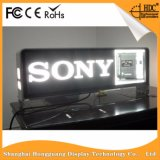 Segni esterni della visualizzazione di LED del tassì di colore completo P5 LED