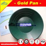 De plastic Gouden Pan van de Was voor het Goud van de Rivier van de Was