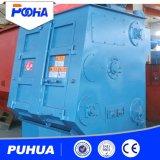 Gleisketten-Riemen-Granaliengebläse-Maschine für kleines Gussteil zerteilt Reinigung