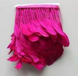 Fringe de penas coloridas de alta qualidade para decorações