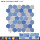 De goedkoopste Tegel van de Badkamers van de Keuken van het Mozaïek van het Glas van het Kristal van de Premie van de Prijs Hexagon