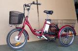 трицикл тарельчатого тормоза 20inch электрический