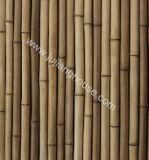 Fachada exterior do bambu cultivado da telha da parede de pedra