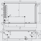 Alimentazione elettrica di AC/DC DC/DC 48V 100W 120W 200W 240W 300W 400W 500W 600W